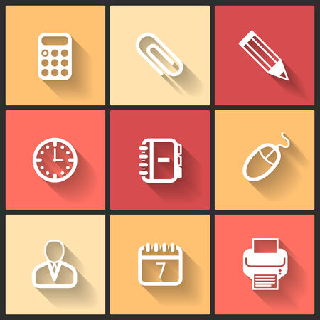 Vector design flat icons for web and mobile