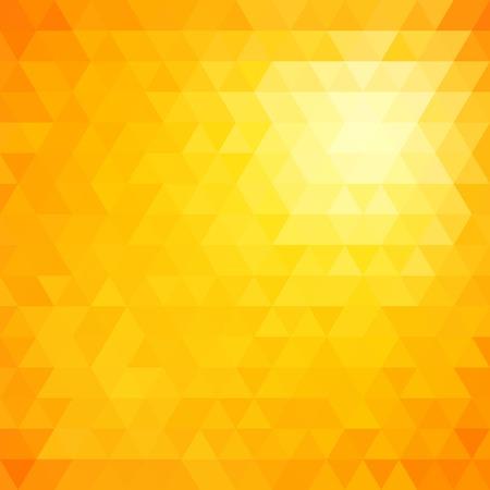 Retro mozaïek patroon van geometrische textuur van driehoek vormen, abstracte vector achtergrond illustratie