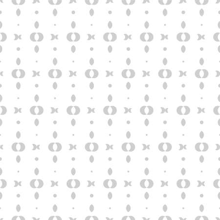 Simple seamless minimalistic pattern, repeating geometric vector background Vector