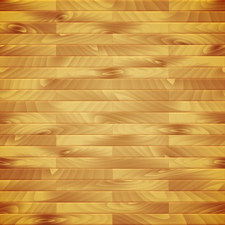 Seamless vector wood plank, brown texture background illustration Vector
