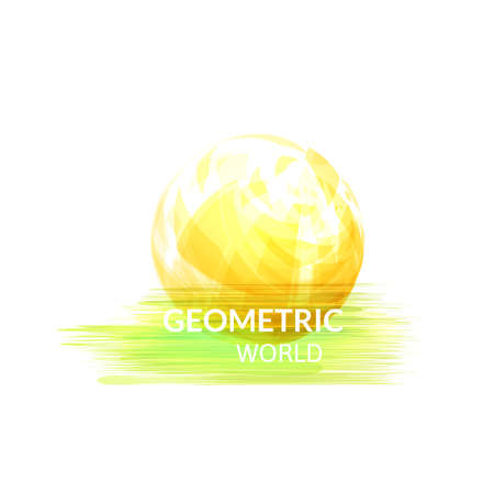 Digital earth concept symbol Vector