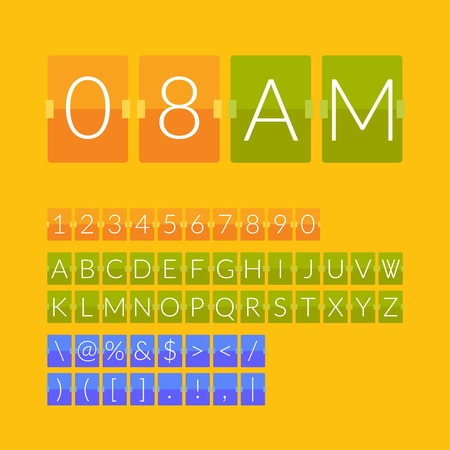 countdown: Flat countdown timer