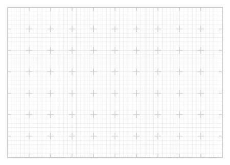 White square grid Illustration