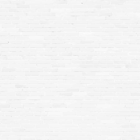 Bakstenen muur, wit reliëf textuur met schaduw