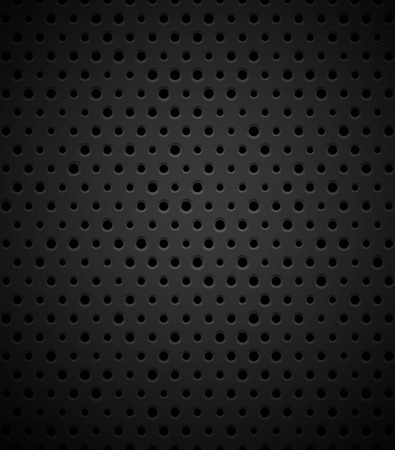 plastic texture: Black metal or plastic texture with holes