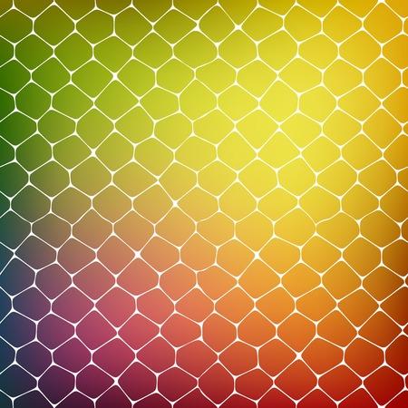 Fondo abstracto de las células coloreadas Foto de archivo - 36155439