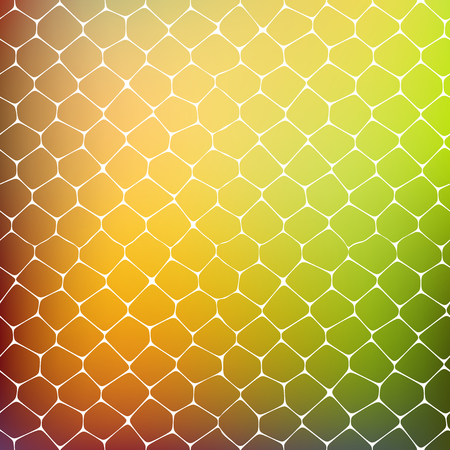 fondo azul: Abstract background of colored cells, vector illustration for your business artwork