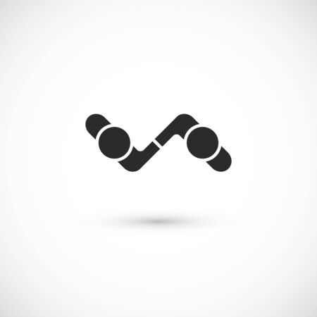 logo handshake: Handshake abstract logo vector design template, business creative concept, cooperation symbol icon, corporate financial sign