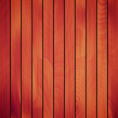 Vector wood plank, red and brown texture background illustration Illustration