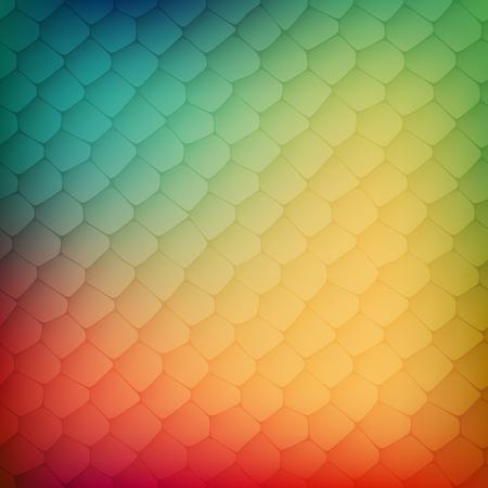 Fondo abstracto de las células de colores, ilustración vectorial para la ilustración de negocio Foto de archivo - 46156235