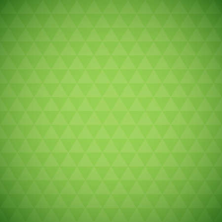simple background: Abstract green triangle background, simple vector illustration Illustration