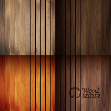 boarded: Set of vector wood texture backgrounds, four colors included