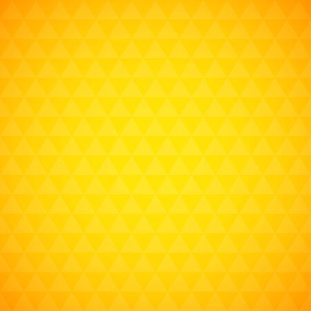 simple background: Abstract yellow triangle background, simple vector illustration