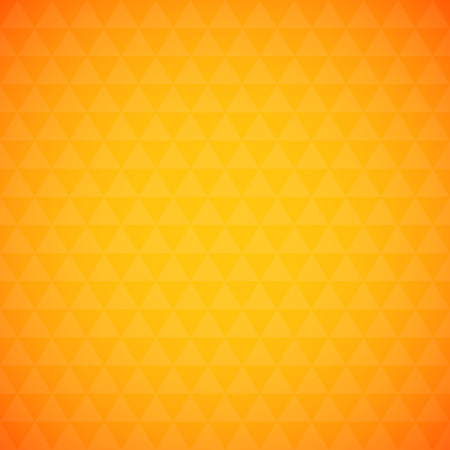 simple background: Abstract orange triangle background, simple vector illustration