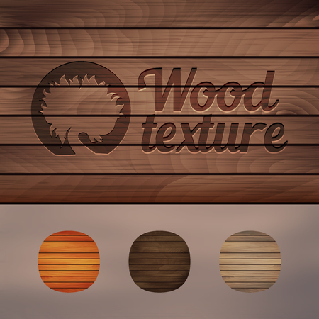 Set of wood texture backgrounds, four colors included. Illustration