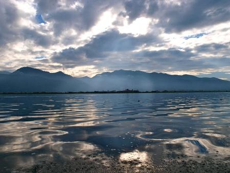 inle: Morning Inle Lake