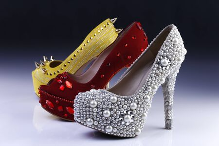 Various jumping shoes for bride, godmother or birthday girl, exclusive, modern and beautiful