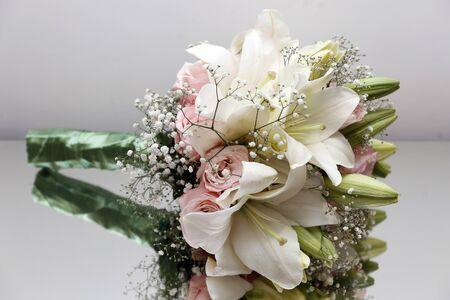 Colorful Flower Bouquet for Bride - Wedding Decoration - Wedding Bouquet Imagens - 134514223