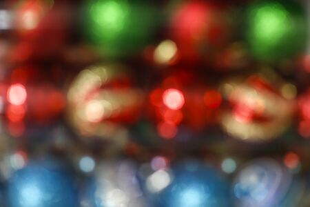 unfocused christmas and New Year holidays background - defocused christmas background