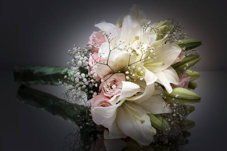 Colorful Flower Bouquet for Bride - Wedding Decoration - Wedding Bouquet Imagens - 134513459