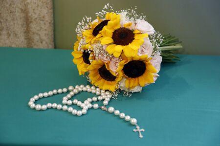 brides wedding flowers bouquet - wedding decoration