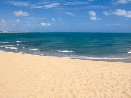 Genipabu Dunes, tourist destination in Natal, northeastern Brazil.