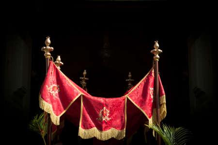 Holy Week. Traditional Catholic celebrate Palm Sunday. Christian faith. Banco de Imagens