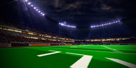 championship: Night stadium arena Football field championship win