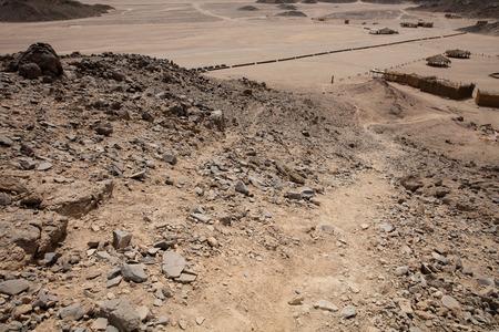 Desert nature in egypt travel day texture