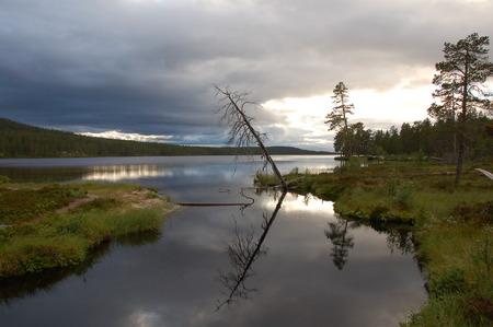 meer: Meer Zweden Stock Photo