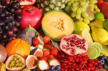 exotic fruits: Tropical fruit mix
