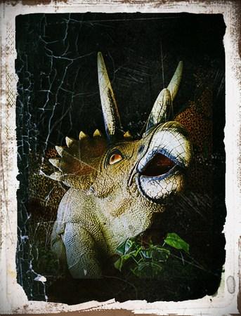 prehistoric animals: Dinosaurs Stock Photo