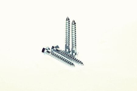 stainless steel range: Screws Stock Photo