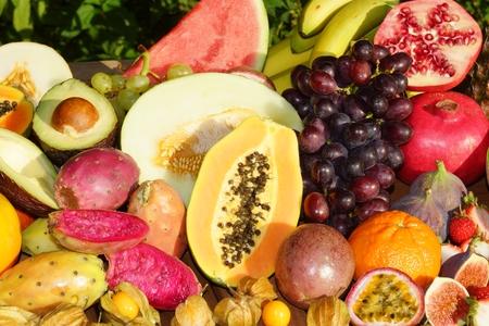 frutas tropicales: Las Frutas Tropicales