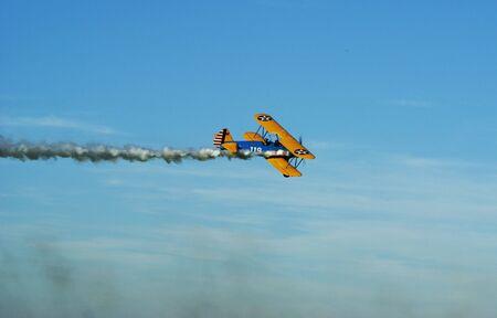 stunt: Stunt pilot in Germany