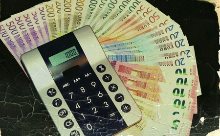 alimony: Money Stock Photo