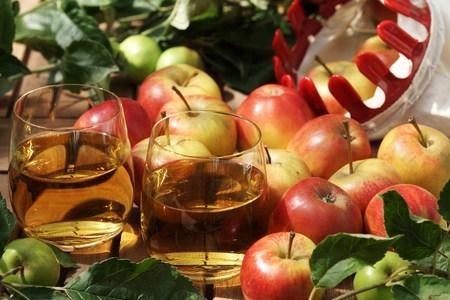 windfalls: Organic apple juice