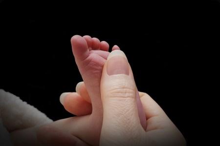 pie bebe: Pie del beb�