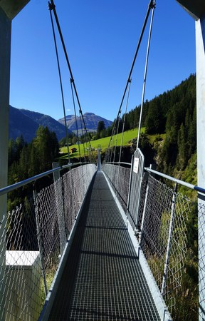 suspension: Suspension Bridge Stock Photo