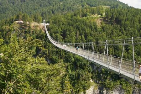 Suspension Bridge Highline 179 Reutte Austria