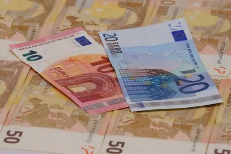 batch of euro: Money Stock Photo