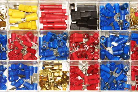 lugs: Clamps Assortment Stock Photo