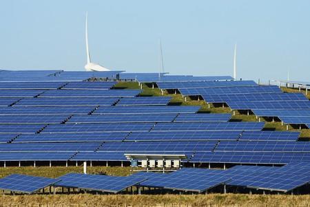solarcell: Large solar plant