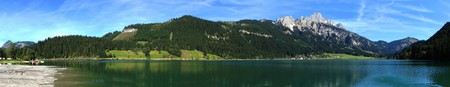 tyrolean: Panoramic Picture Of The Tyrolean Alps
