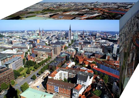 Free and Hanseatic City of Hamburg Stock Photo