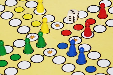 Ludo is boardgame Played between friends, family & kid