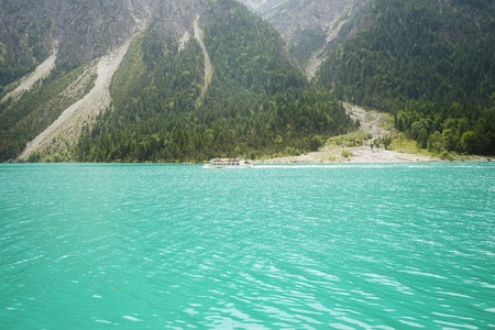 Lake Plansee in the Tyrolean Alps