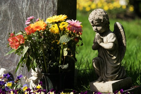 Grave on a cemetery