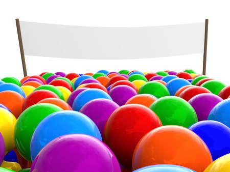 figuras abstractas: Una multitud de personas coloridas permanente en representaci�n de line.Three-dimensional de figuras abstractas. Foto de archivo