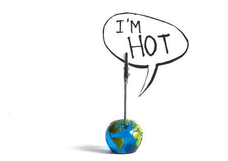 the wworldis hot Stock Photo